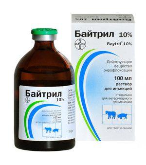 Zdravilo `bytril` v veterinarski medicini: navodila za uporabo