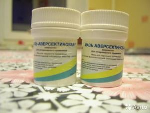 Učinek mazila aversectina