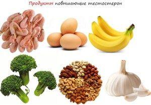 Seznam izdelkov, ki povečajo testosteron pri moških