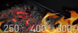 Toplotna odporna visoko-temperaturna barva za žar in kovino