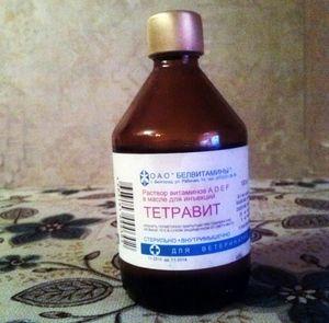 Svet za uporabo tetravitusa