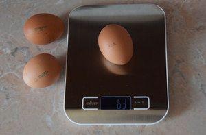 Teža kokošjega jajca, koliko tehta gram brez lupine