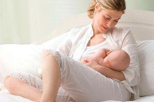 Dojenje za hitro rehabilitacijo mlade mame